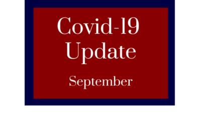 Covid-19 Update September
