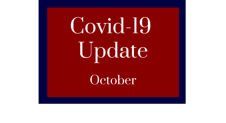 Covid-19 Update October